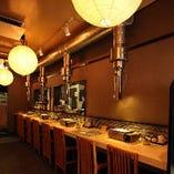 ◆カウンター席◆~目の前で旬食材の味・店主との会話を堪能~(~8名様)