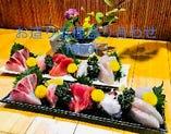 高知直送や京都中央市場からの新鮮な鮮魚!