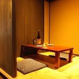 完全個室♪全室換気扇完備。デート、接待に♪