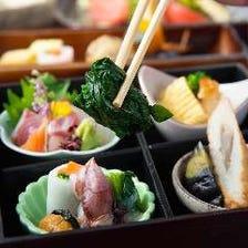 鮮魚・鴨料理・湯葉・京野菜・生麩