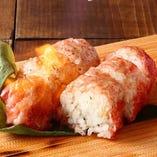 限定3食】黒毛和牛の棒寿司