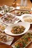 ハーブと野菜のパーティーコースは1500円からご用意!