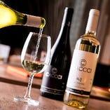 牡蠣のために作られたワインと一緒にどうぞ♪