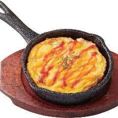 牡蠣のチーズオムレツ