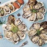 同僚とご家族とご友人と!様々なシーンでたっぷり牡蠣が味わえる
