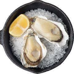 牡蠣の素焼き