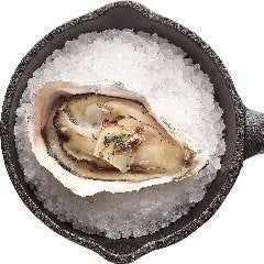 牡蠣のアンチョビガーリック焼き