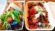 【テイクアウト】 茄子のトマトソース&サラダ&フォカッチャ