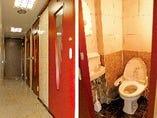 男女別水洗トイレ
