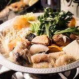 あんきもを磨り潰した味噌ベースのスープが◎「浜田あんこう鍋」