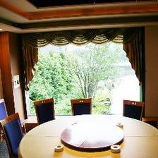 ◆眺めも楽しめる落ち着いた個室◆