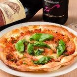 ◇大きさも満足◇ トマトの旨みが詰まった「マルゲリータ」