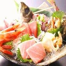 鮮魚いきいき盛り合せ