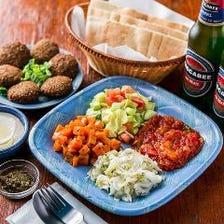 都内では珍しいイスラエル料理店!