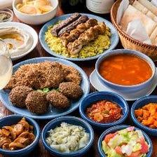 ☆シャマイム一番人気☆ ≪おまかせ食べ放題コース≫ALL YOU CAN EAT 時間無制限 1名様~ 2,400円