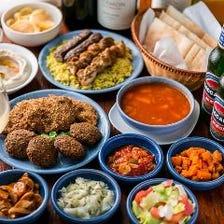 イスラエル料理 時間無制限食べ放題