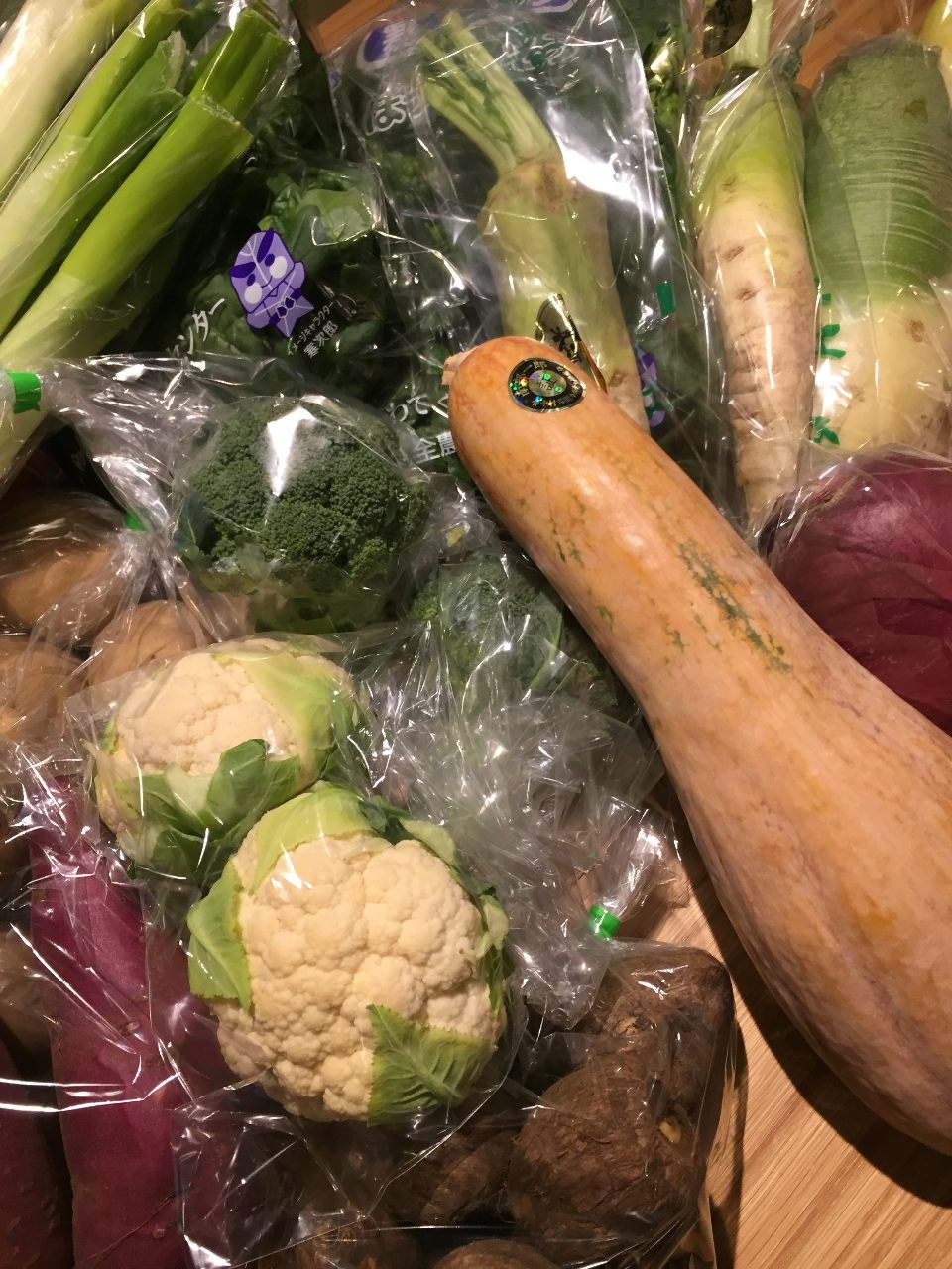 色とりどりの岩手野菜