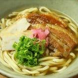 自家製の生麺!沖縄そば