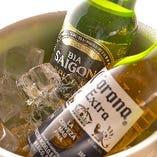 最初の一杯はビールで決まり☆