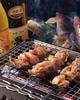 地鶏もも肉の網焼き