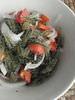 海ぶどうとトマトの純和風ドレサラダ