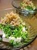 豆腐と水菜のカリカリじゃこのサラダ