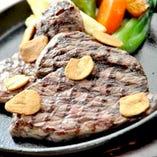 牛ランプ肉ステーキ