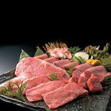 仙台牛超熟成肉が味わえます