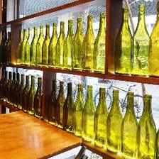 ◆豊富なワインメニュー