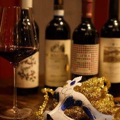 鴨餃子とワイン オペレッタ52