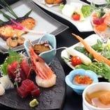 厳選鮮魚で寿司宴会!