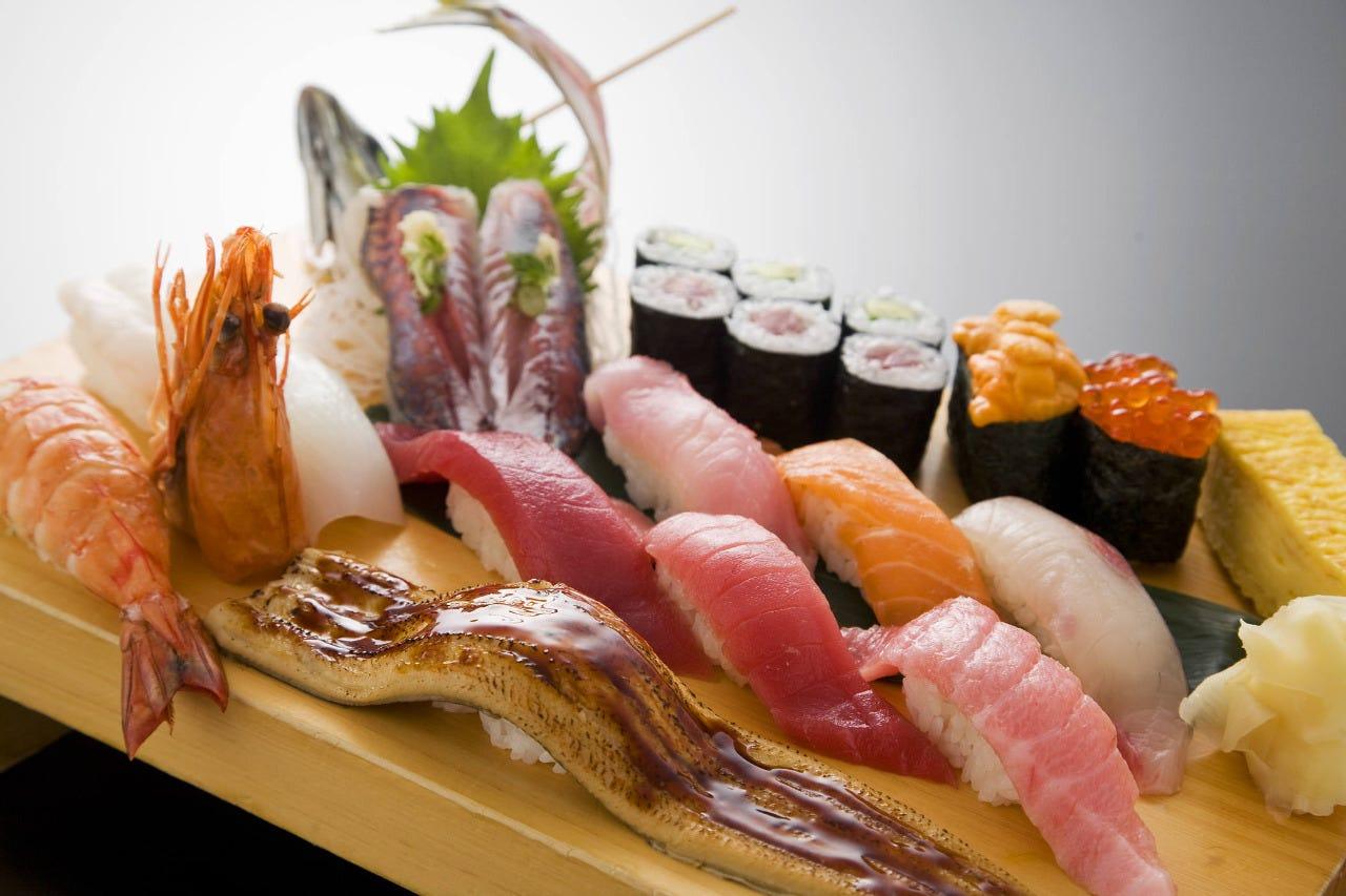 沼津 魚がし鮨 横浜ランドマーク店(みなとみらい/寿司屋) - ぐるなび