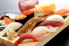 横浜握り(サラダ・かに汁付き)