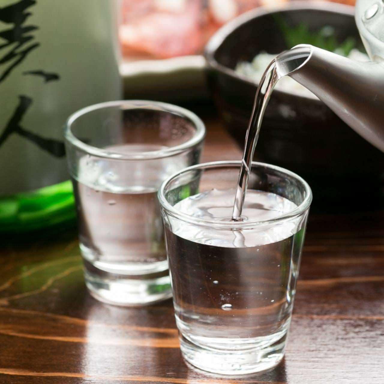 日本酒と浜焼でクイッ!っとどうぞ♪