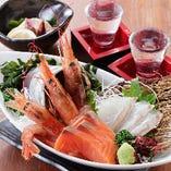 毎日仕入れの産直鮮魚!旨い刺身を毎日ご提供致します。