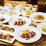 【2時間飲み放題付】ブランド牛ステーキを堪能!豪華全8品、大切な人と至福のひと時を『特選近江牛プラン』