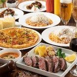 飲み放題はたっぷり100分&シェフの特製メイン料理を堪能『イタリアンバルコース』