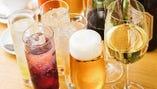 生ビールや瓶ビールもOKの飲み放題!単品でもご注文いただけます