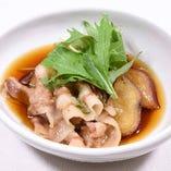 ホエー豚とさつま芋の旨煮