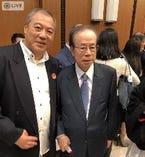 中日平和友好条約40周年の祝賀会にも参加
