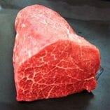 【インスタ映え】 黒毛和牛ランプ肉の塊ステーキ 300g