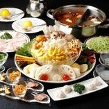 旬野菜と米沢豚一番育ちコース