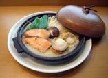鮭とホタテのちゃんちゃん焼き 北海道の香り満喫できます。