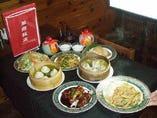 本格中華100種食べ放題 華龍飯店 茅場町店