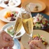 記念日に◎ご家族や恋人など大切な人と美味しいワインで乾杯♪