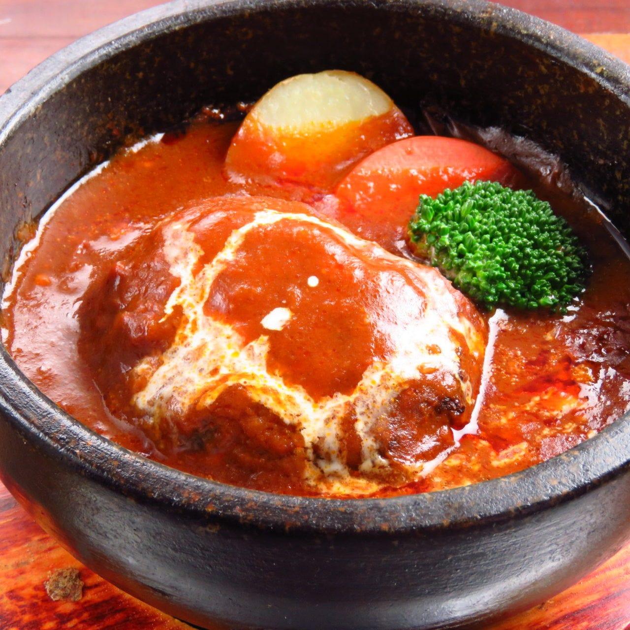 特製石鍋煮込みハンバーグ