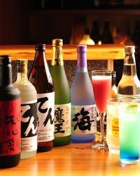 ワインから日本酒まで多種なお飲物
