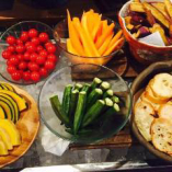 新鮮野菜もキンキンに冷やしてご提供します!