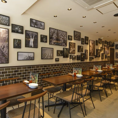 Farm to table De salita  店内の画像