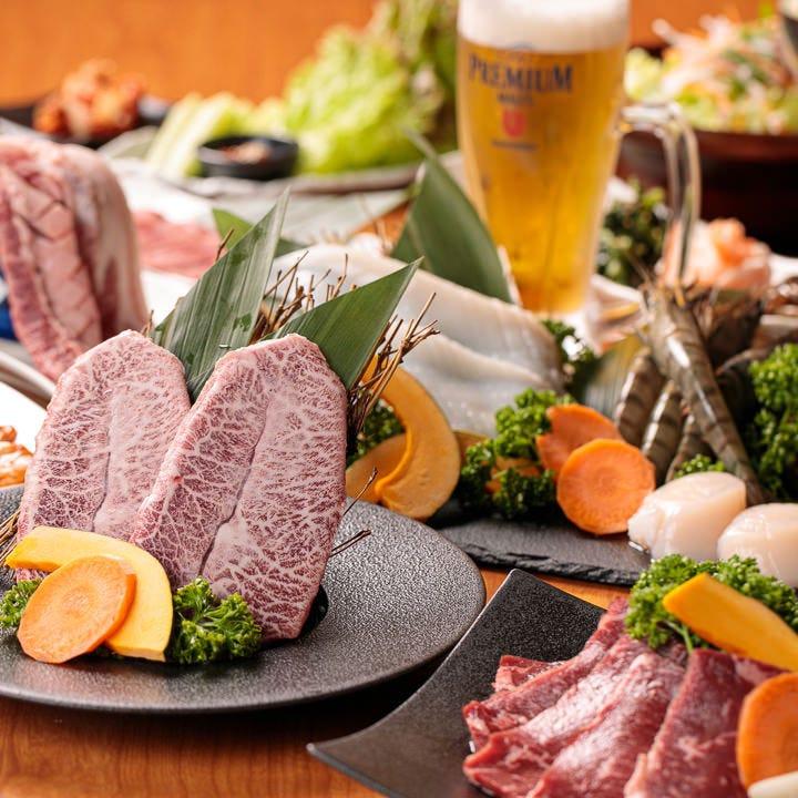 お肉を堪能!食べ放題コース2,980円〜